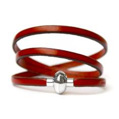Red rainbow bracelet