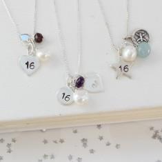 Celebrate 16th Birthday Necklace