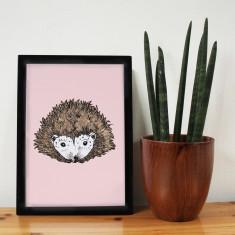 Hettie Hedgehog Print
