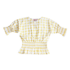 Girls' ray of sunshine blouse