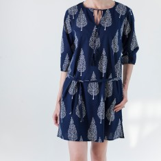 Classic tunic in navy