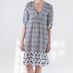 Summer dress in navy