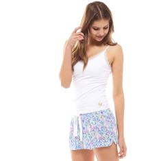 Art Deco Pj Short Blue