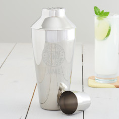 Personalised 'Cocktail King' Motif Shaker