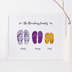 Personalised Thong Print
