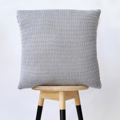 Taper knitted cushion cover (various colours)