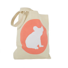 Iconic koala canvas tote bag