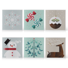 Christmas Greeting Cards Six Pack
