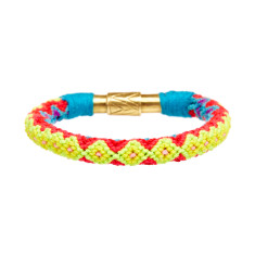 Cotton magnetic bracelet