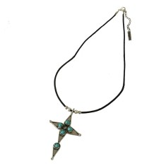 Maya Cross Necklace