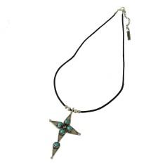 Maya Cross Necklace