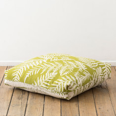 Bracken & Gold Dust Wattle floor cushion
