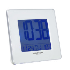 London Clock Company Hydro Multi Function Alarm Clock