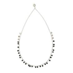 Labadorite chain necklace