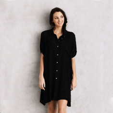 Ebla dress in black