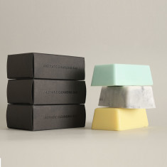 Aromatic Cleansing Bar Trio Marble Gift Set