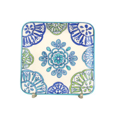 Ibiza daydream collection square plate