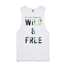 Wild & Free Unisex Tank - Organic Cotton & Bamboo