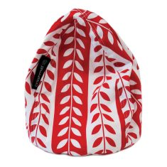 Red foliage stripe bubble iPad holder