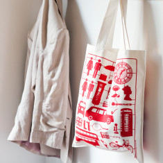 Airfix London canvas bag