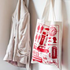 Airfix London canvas bag
