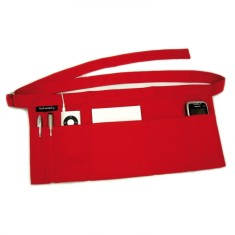 Wrapbag in red canvas