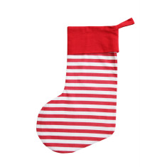 Classic Christmas stocking in red
