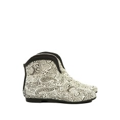 Regal paisley rubber wellies