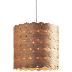 Reggie oak pendant light