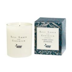 Rose Amber & Geranium Classic Candle
