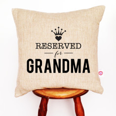 Reserved personalised cushion cover (boys and girls)
