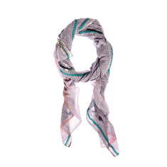 Aish vayu violet and green scarf
