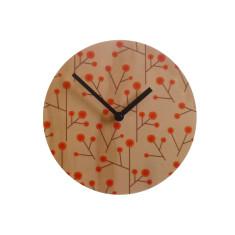 Objectify retro blossom wall clock