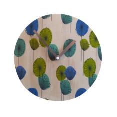 Objectify Retro Dandelion Wall Clock