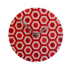Objectify Retro Hive Wall Clock