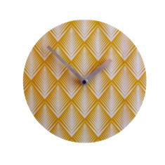 Objectify Retro Pine Wall Clock