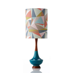 Electra table lamp large in casso pastel