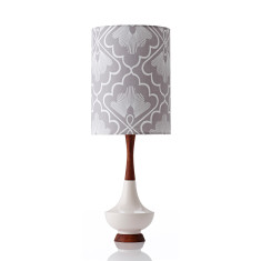 Electra large table lamp in fan mist