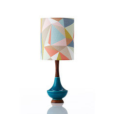 Electra table lamp small in casso pastel gold