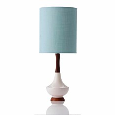 Electra table lamp small in ivy mint {note from htf: please upload turquoise & republish}