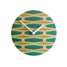 Objectify retro stretch wall clock