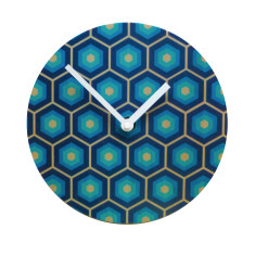 Objectify Retro Tiles Wall Clock
