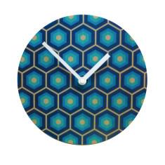 Objectify Retro Tiles Wall Clock