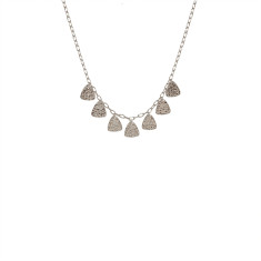 Tribal Necklace in Sterling Silver