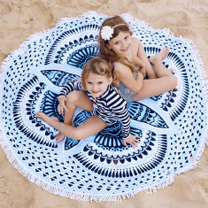 Baha - Round Beach Towel