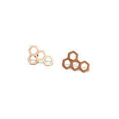 Honeycomb earrings (various colours)