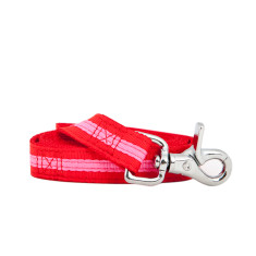 Bronte Nylon Lead Red/Pink