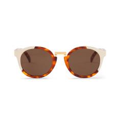 Mr Boho Fitzroy Cream/Leo Tortoise Sunglasses