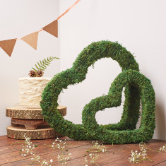 Real Moss Heart