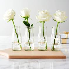 Personalised Noel Bottle Bud Vases